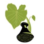Kalo leaf and Poi Pounder